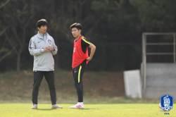 U-20 축구대표팀, 수원 꺾고 연습 경기 2승...일정 마무리