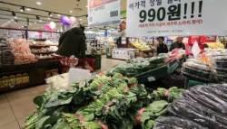 4월 소비자물가 상승률 0.6%…4개월 연속 0%대