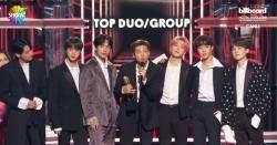 BREAKING: BTS wins the Billboard Top Duo / Group Award & Top Social Artist Award