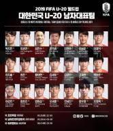 U-20 월드컵 최종 21인 확정…김정민, 정우영, 이강인 포함