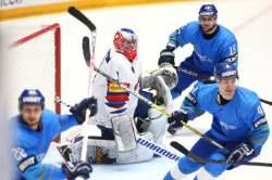 아이스하키, 세계선수권서 카자흐스탄에 1-4 패