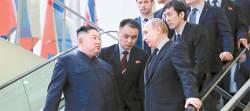 김정은 러시아서 또 빈손 귀환…北 '최고존엄 모시기' 비상