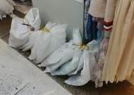 같은 동대문인데···평화시장은 쓰고 두타는 못쓰는 비닐, 왜