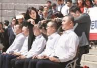 황교안 경부선 400km 대장정…의원 4명 집단 삭발