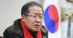 """홍준표, 태극기 부대 겨냥?…""""朴 팔아 정치생명 연장"""""""