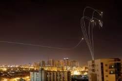 [서소문사진관] 이스라엘 아이언 돔 뚫은 팔레스타인 하마스 로켓포