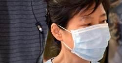 """""""불에 데인 것 같아…"""" 형집행정지 기각 후 첫 외부병원 나온 박근혜"""