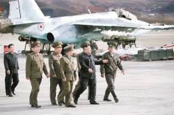 김정은, 한·미 훈련에 군대 방문 맞불…<!HS>평양<!HE><!HS>선언<!HE> 뒤 4차례
