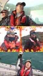 '도시어부' 이만기, 바다 위 '쫄보'…투덜이 캐릭터로 웃음폭탄