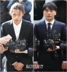 승리, 구속영장 신청 임박…정준영, 10일 첫 재판