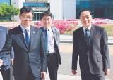 [사진] 김연철 장관, 개성 연락사무소 첫 방문