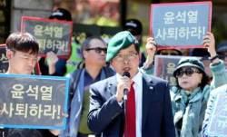 네이버 뉴스 편집자문위원이던 '윤석열 협박' 유튜버 자택 앞에서 체포