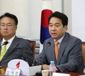 """<!HS>심재철<!HE> """"미사일을 미사일이라고 말 못하는 '홍길동 정부'"""""""