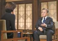 """북한 미사일 2발 발사···文, 두차례 걸쳐 """"경고하고 싶다"""""""