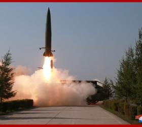 """美국방부 """"9일 北<!HS>발사체<!HE>는 <!HS>탄도미사일<!HE>""""…유엔 안보리 결의 위반"""