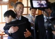 文, 취임 2주년 청국장 점심…盧정부 때 즐겨찾던 단골집