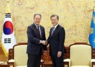文대통령, WFP 사무총장 접견…대북 식량지원 논의
