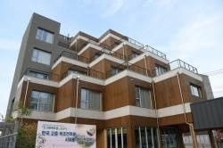 국내 고층 목조건축물 등장하나?..영주 5층 목조건축물 준공으로 관심