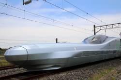 [<!HS>서소문사진관<!HE>]최고 시속 400km '알파-X' 신칸센 시험운행