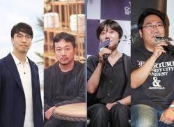 윤종빈·장재현·이경미·권혁재 감독, 미쟝센 단편영화제 집행위원단