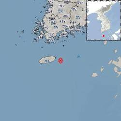 제주 서귀포 동쪽 해역 규모 2.4 <!HS>지진<!HE>