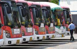 버스 파업 D-1 전국 초긴장…부산 전세버스 270대 투입한다
