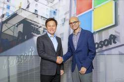[경제 브리핑] SKT·MS 인공지능·5G 사업 협력키로