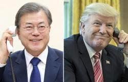 북엔 쌀 카드, 미국엔 방한 요청 …양쪽서 속 끓이는 정부
