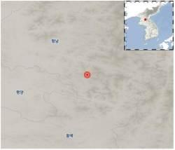 """북한 평남 양덕 부근서 규모 3.3 <!HS>지진<!HE>…""""자연 <!HS>지진<!HE>"""""""