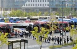 정부세종청사-수도권 통근버스 운행비 609억원..올해까지 8년간 비용