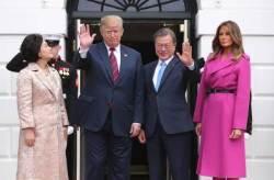 트럼프 내달 하순 한국 온다···北미사일 이후 첫 정상회담