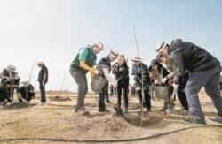 [사진] 몽골을 푸르게
