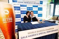 이디야커피, 세계적 바리스타 '데일 해리스'와 고객 행사 진행