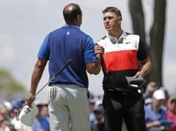 브룩스 켑카 PGA 챔피언십 1R 7언더파 선두, 우즈는 2오버파