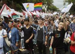 대만, '아시아 최초'로 동성결혼 법적 인정