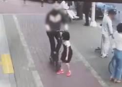 11세 어린이 치고 달아난 '전동휠 뺑소니범'…아빠는 수액 줄 빼고 쫓아갔다