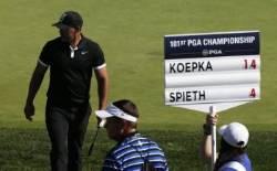 """""""게임 오버?"""" 브룩스 켑카 PGA 챔피언십 3라운드서도 7타 차 선두"""