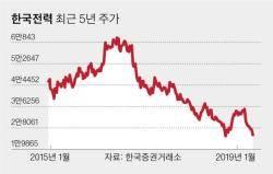 """한 달간 소액주주 시위하는 한전...증권가 """"올해도 순손실 불가피"""""""