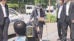100㎞로 횡단보도 덮친 87세, 지팡이 짚고 나타나 日 경악