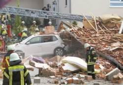 [사진] 독일 주택가 폭발사고 4명 실종