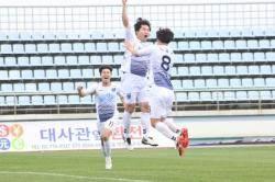 천안시청, 1박2일 승부서 짜릿한 역전승