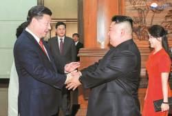 <!HS>시진핑<!HE>, 김정은 3차 방중 직후 쌀 공짜로 줬다