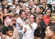 [사진] 조코위 인도네시아 대통령 재선 성공