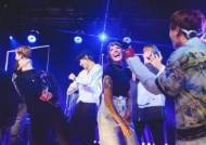 Halsey Makes a Surprise Visit to BTS's iHeartRadio Live as Special Guest
