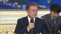"""문 대통령 """"한·미 동맹 공고함, 북한 <!HS>발사체<!HE> 대응서 빛났다"""""""