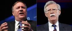 으르렁대는 폼페이오 vs 볼턴, 북핵 협상에 악재
