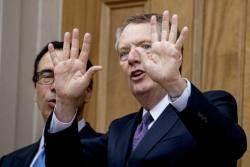 시진핑 '빨간펜' 수정안에… 트럼프는 '노딜' 협상 깼다