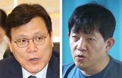 """최종구 """"혁신 그늘 살펴야"""" 이재웅 """"주무부처 장관도 아닌데"""""""