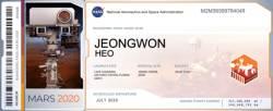 북한 주민 280명, <!HS>NASA<!HE>의 화성 탐사선 '이름 탑승권' 발급