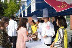국민대, 외국인 유학생 1200명 대상 바비큐 파티